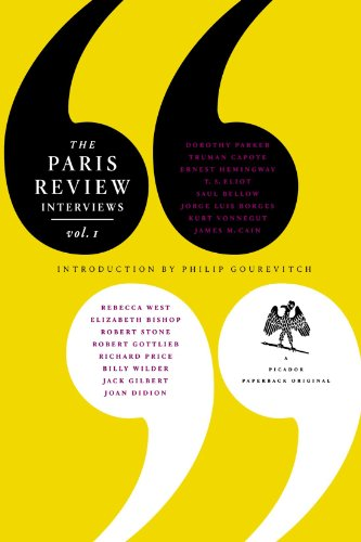 The Paris Review Interview: Volume 1 (Paris Review Interviews)