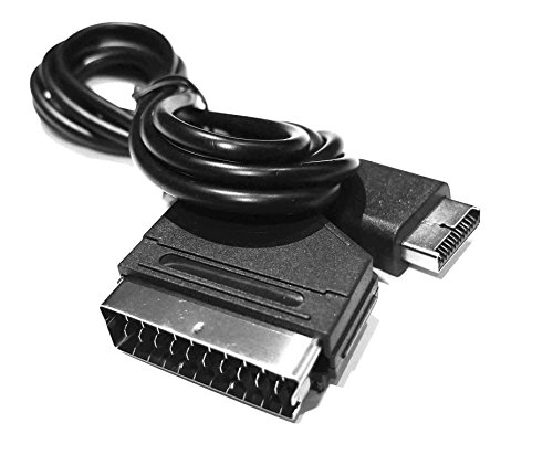 Gam3Gear Real RGB Scart Cable AV cuerda del plomo para PS3 PS2 PS 1 Una PAL - NOT for HDMI