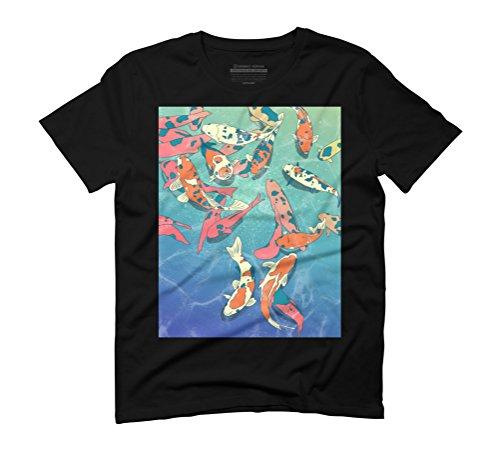Design By Humans Herren T-Shirt Schwarz