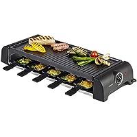 Korona – Raclette 45060 I 1500 W I 10 Personen I Schwarz
