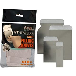 Axus Décor Stainless Steel Flexible Filling Knife Set