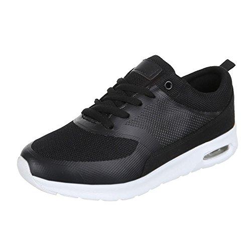 ab17649383a816 Scarpe Da Donna 1181 Sneakers Casual Sneakers Nere ...