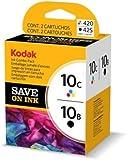 Original Kodak ink Cartridge Bundle 3949948 / 10B10C black + color für EasyShare 5100, 5300, 5500, 6150; ESP 3, 3250, 5, 5210, 5220, 5230, 5250, 7, 7250, 9, 9250, Office 6150; Hero 7, 9, Office 6