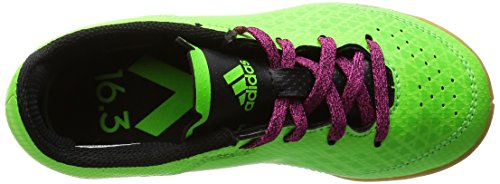 adidas Ace 16.3 Ct, Chaussures de Football Compétition Mixte Enfant Vert (Solar Green/Core Black/Shock Pink)