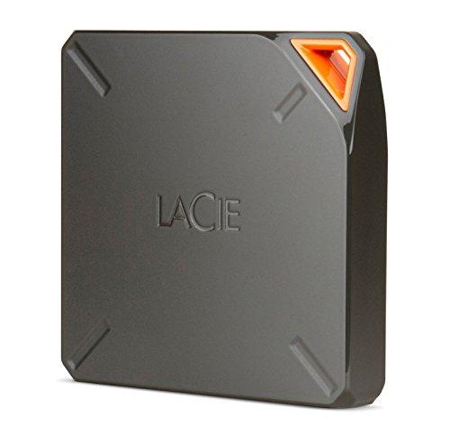 erne tragbare Festplatte mit WLAN und Akku, für Mac, iPAd, iPhone, USB 3.0. - STFL1000200 ()