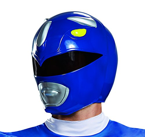 Disguise Adult Blue Ranger Helmet Standard
