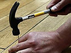 Rolson 10334 8 oz Tubular Steel Claw Hammer