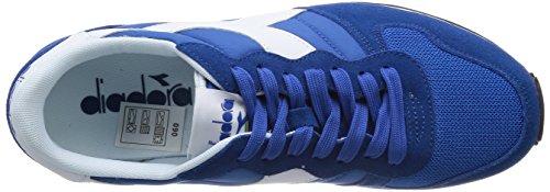 Diadora Camaro, Sneaker Unisex – Adulto Blu/Bianco