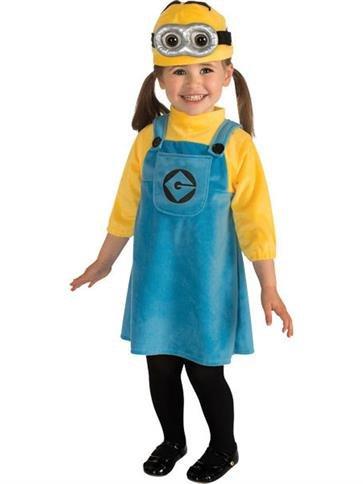 Weiblicher Minion - Kleinkind (Kostüme Ferkel Kleinkind)