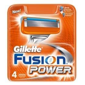 Gillette fusion power 100% genuine razor blades