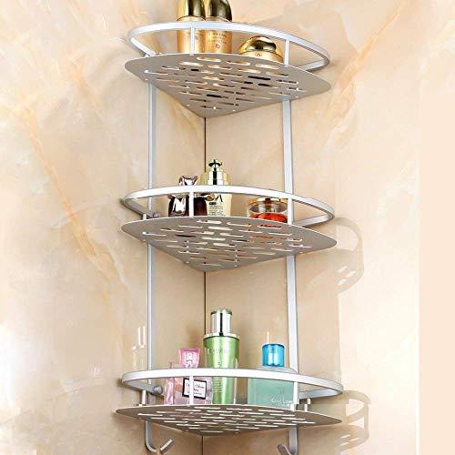 Mensola da bagno home-neat (senza fori) resistente alluminio 3 ...
