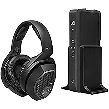 sennheiser rs175 surround sound wireless headphones by. Black Bedroom Furniture Sets. Home Design Ideas
