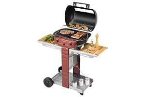 Campingaz - Barbecue gaz El Prado 1800 Woody rouge Campingaz