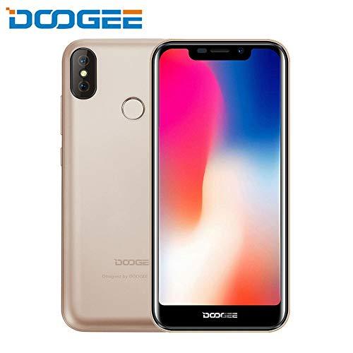 Teléfono inteligente Android Oshide DOOGEE X70 8.1, 5,5 pulgadas, pantalla táctil 4G, 5MP + 8MP, cámaras dobles y batería grande de 4000mAh