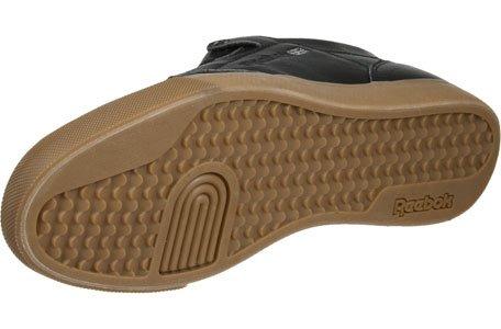 Reebok Workout Low Clean Herren Sneaker Schwarz Schwarz