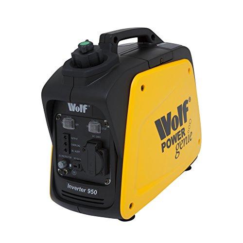 Wolf Power Genie WPG950 2.6HP 800w Portable 4 Stroke Petrol Inverter Suitcase Generator - 2 Years Warranty