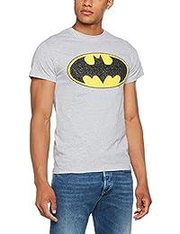 DC Universe Herren T-Shirt DC Originals Batman Crackle Logo Men