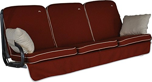 floristikvergleich.de Angerer 4785/182 Primero Style Schaukelauflage Style, Terracotta, 3-Sitzer