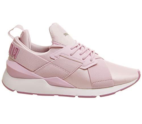 Puma Damen Sneaker Muse Satin II Rose (70) 40,5 (Zapatos Puma)