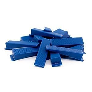 Lantelme 4835 Keile 250 Stück Fliesenverlegehilfe für Zuglaschen