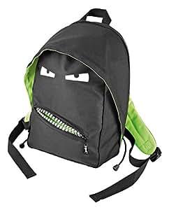 Wedo 24361501 Rucksack (7 Liter) schwarz/grün