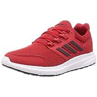 adidas Galaxy 4, Men's Road Running Shoes, Red (Scarlet/Grey Six/Ftwr White),9 UK (43 1/3 EU)
