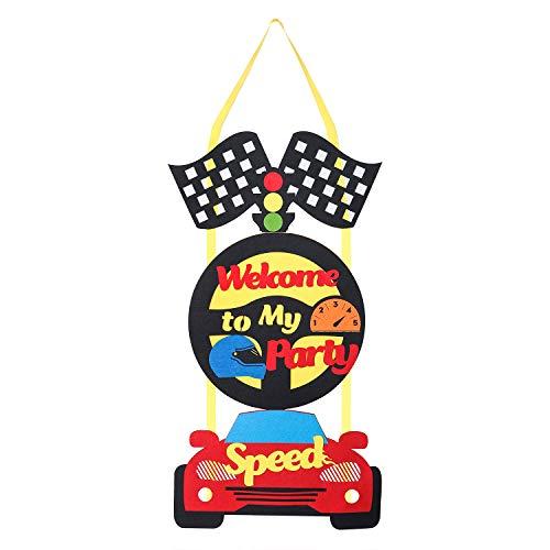 kommen Aufhänger Türschild, Willkommen zu meiner Party Tür Banner für Party Dekoration ()