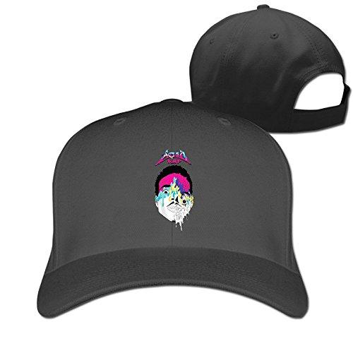 thna-chance-l-acido-rapper-rap-logo-regolabile-moda-cappello-da-baseball-black-taglia-unica