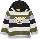 Steiff Baby-Jungen Sweatshirt 1/1 Arm, Mehrfarbig (Y/d Stripe|Multicolored 0001), 80