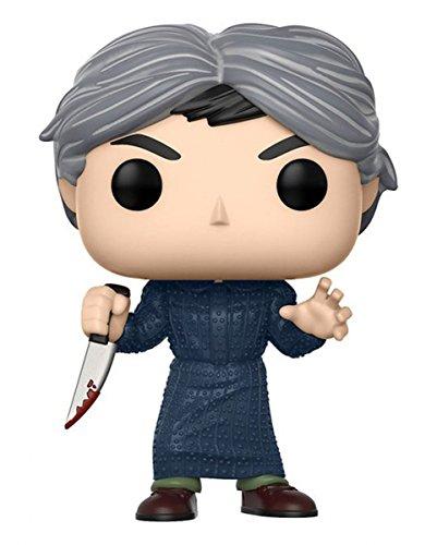 Horror-Shop Lizenzierte Norman Bates Psycho Funko Pop! Figur aus Alfred Hitchcocks Klassiker als Halloween-Deko
