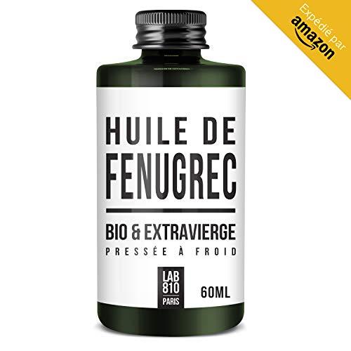 HUILE DE FENUGREC BIO 100% Pure et Naturelle, Pressée à Froid & Extra Vierge. Augmentation de la...