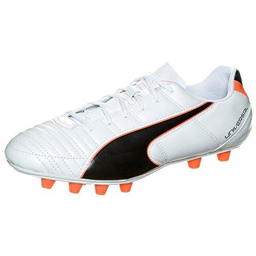Puma  Universal II FG, Chaussures de football homme - Blanc/Noir