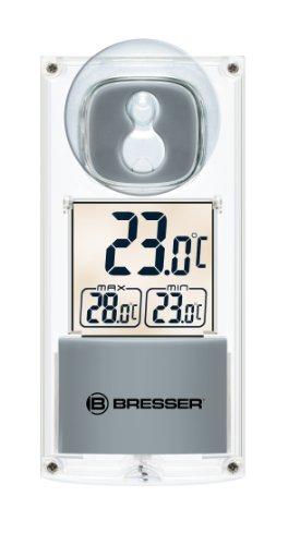 Bresser Solar Fenster-Thermometer
