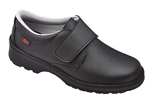 Dian Milán-scl - Zapato de trabajo unisex-adulto, talla 39, color negro