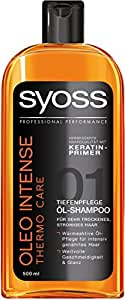 Syoss Oleo Intense Thermo Care Shampoo, 6er Pack (6 x 500 ml)