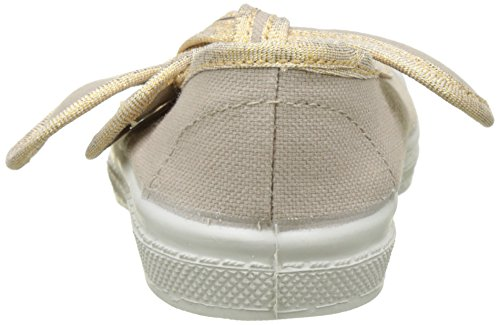 Bensimon Tennis Flo Shinypiping, Baskets Basses Fille Beige (Beige Coquille)