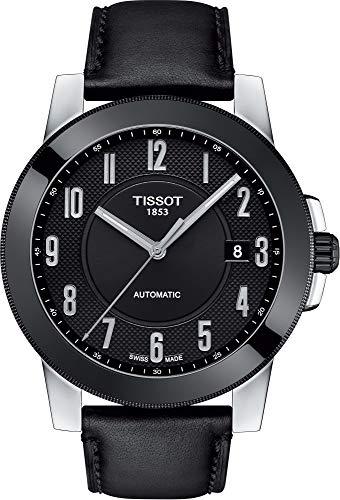 Tissot Herren-Uhren Analog Automatik One Size Leder 87248968