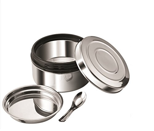 NanoNine Local Byte Stainless Steel Insu-Lock Lunch Box, Small