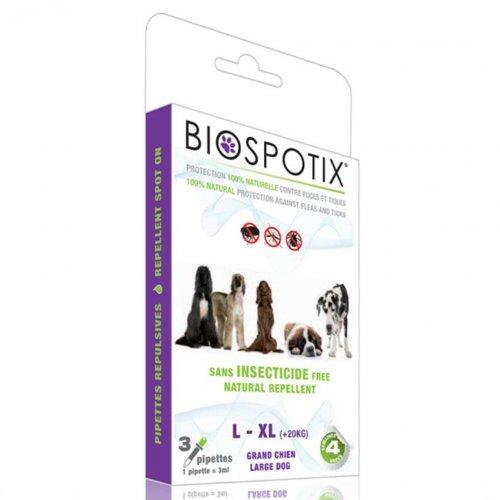Ungezieferschutz Pipetten Spot-On Biospotix XL große Hunde 3x3ml von Biogance
