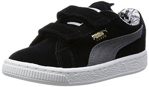 Puma Jungen Batman V Sneaker, Schwarz (Blk/S.Grey 01BLK/S.Grey 01), 23 EU (Batman Turnschuhe)