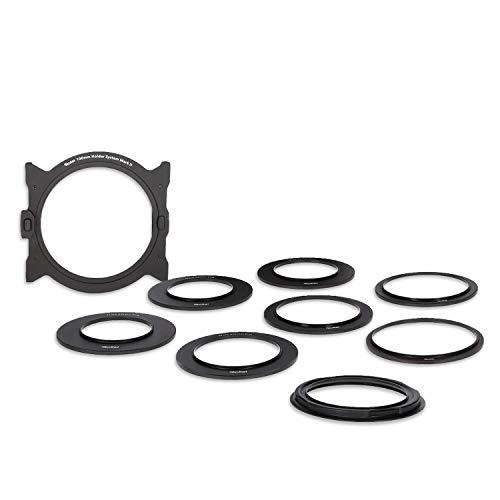Rollei Mark II Filterhalter Steckfiltersystem I Filter-Halter für 100mm Rechteckfilter, Einschubfilter, Steckfilter I inkl. Objektivadapter 52 - 82mm -