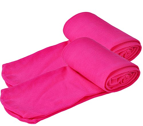 Astage Abbigliamento Bambine Ragazze Calze Leggings Collant Calzamaglie Intimo Rosa caldo M