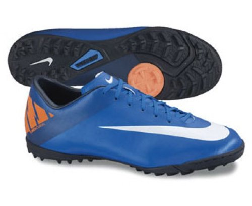 Nike Mecurial Victory II Chaussure Football Gazon Synthetic Bleu