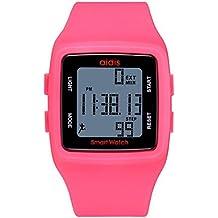 MODIWEN - Reloj Digital Deportivo Unisex, Resistente al Agua, Multifuncional, Resina