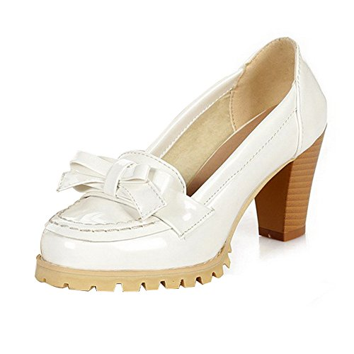 Adee , Sandales Compensées femme Blanc - blanc
