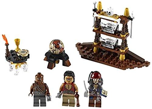 LEGO Piratas Caribe 4191 - El Camarote Capitán