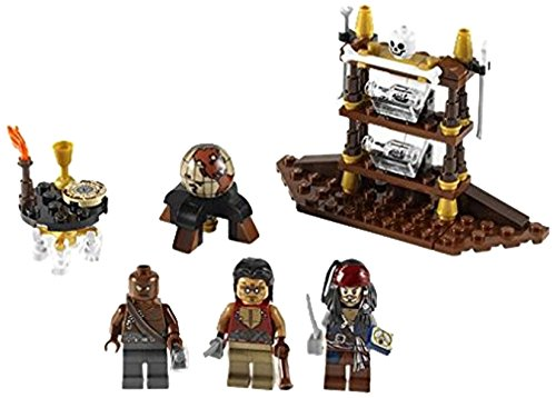 flying dutchman lego LEGO Pirates of the Caribbean 4191 - Kapitänskabine