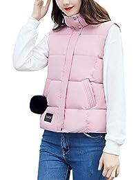 96ee7d85a72f4a Leey_Jacken & Mäntel Damen Herbst Winter Warm Westemantel Gilet Dick  Baumwolle Jacke Mode Frauen Mädchen Beiläufig Einfarbig…