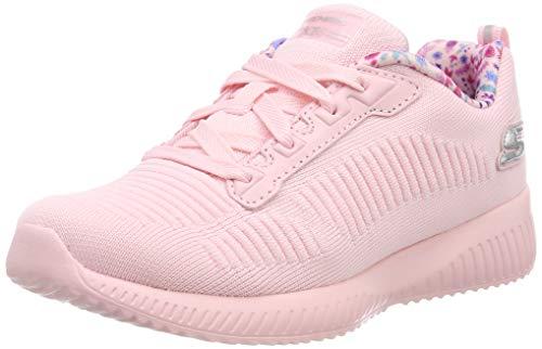 Skechers Mädchen Bobs Squad Sneaker, Light Pink Ltpk, 30 EU