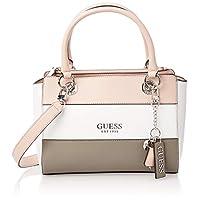 Guess Womens Satchels Bag, Mauve Multi - VM767206